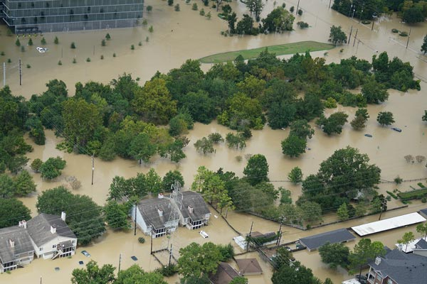 harvey lawsuit reservoirs cause flooding